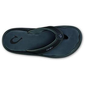 OluKai Ohana Sandals Men black/dark shadow